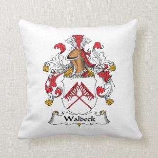 Escudo de la familia de Waldeck Almohadas