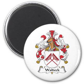 Escudo de la familia de Waldeck Imán De Frigorifico