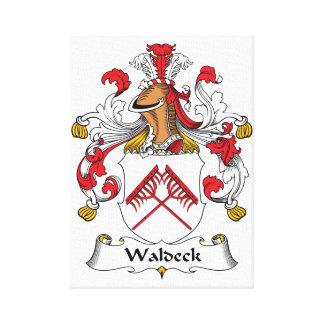 Escudo de la familia de Waldeck Impresiones En Lona Estiradas
