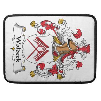 Escudo de la familia de Waldeck Funda Para Macbook Pro