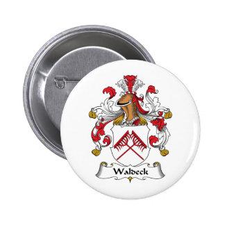 Escudo de la familia de Waldeck Pin