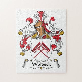 Escudo de la familia de Waldeck Puzzles
