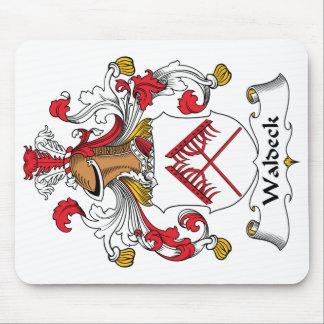 Escudo de la familia de Waldeck Tapetes De Ratones