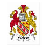 Escudo de la familia de Walden Postales
