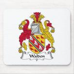Escudo de la familia de Walden Alfombrilla De Ratones