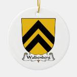 Escudo de la familia de Waldenberg Adornos