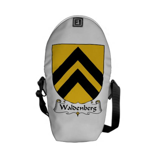 Escudo de la familia de Waldenberg Bolsa De Mensajería