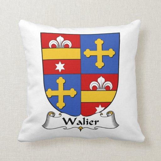 Escudo de la familia de Walier Almohada