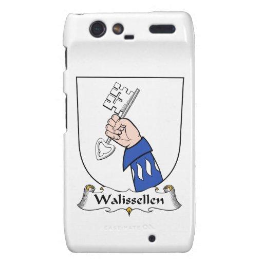 Escudo de la familia de Walissellen Droid RAZR Funda