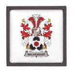 Escudo de la familia de Walkendorf Caja De Joyas De Calidad