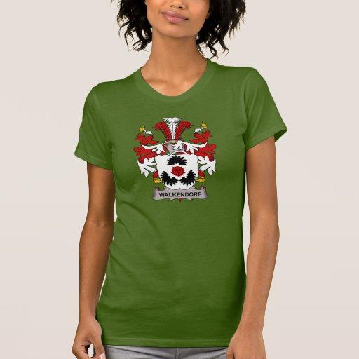 Escudo de la familia de Walkendorf Camisetas