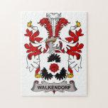 Escudo de la familia de Walkendorf Puzzles