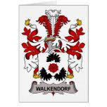 Escudo de la familia de Walkendorf Tarjeton