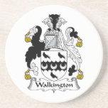 Escudo de la familia de Walkington Posavasos Manualidades