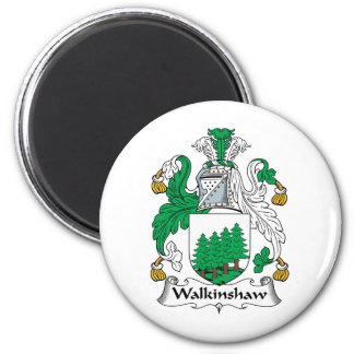 Escudo de la familia de Walkinshaw Imán Redondo 5 Cm