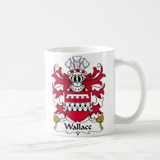 Escudo de la familia de Wallace Taza