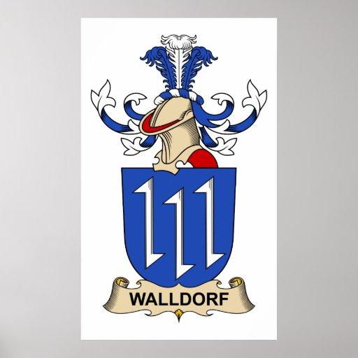 Escudo de la familia de Walldorf Impresiones