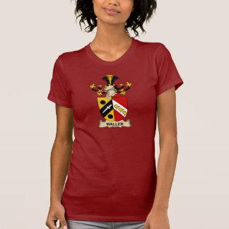 Escudo de la familia de Waller Camiseta