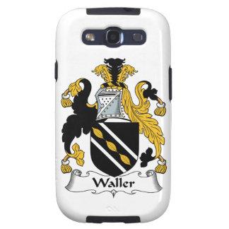 Escudo de la familia de Waller Galaxy S3 Carcasa