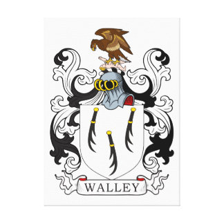 Escudo de la familia de Walley Lona Estirada Galerías