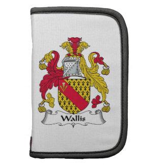 Escudo de la familia de Wallis Organizador