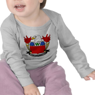 Escudo de la familia de Walmsley Camiseta