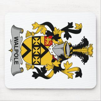 Escudo de la familia de Walpole Alfombrillas De Ratón