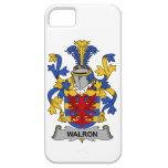 Escudo de la familia de Walron iPhone 5 Case-Mate Coberturas