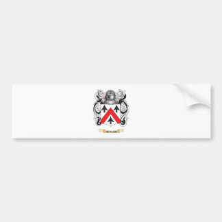 Escudo de la familia de Walsh escudo de armas Etiqueta De Parachoque