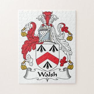 Escudo de la familia de Walsh Puzzles