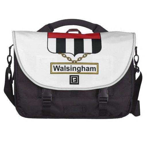 Escudo de la familia de Walsingham Bolsa De Ordenador
