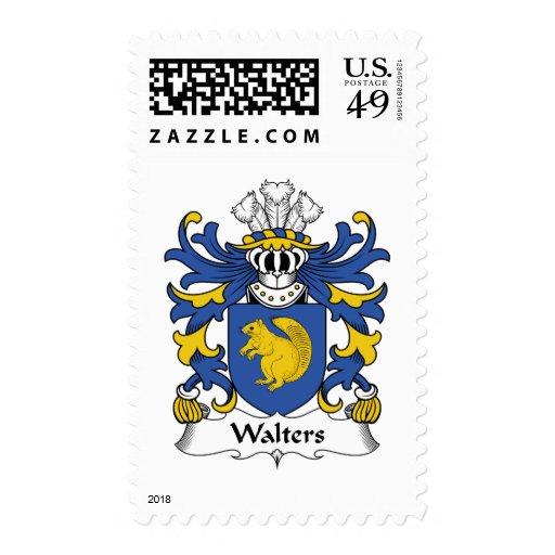 Escudo de la familia de Walters Sello
