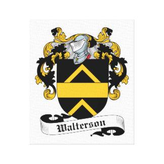 Escudo de la familia de Walterson Lona Envuelta Para Galerías