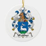 Escudo de la familia de Walther Adornos De Navidad