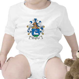 Escudo de la familia de Walther Traje De Bebé