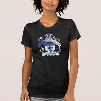 Escudo de la familia de Walthers Camisetas