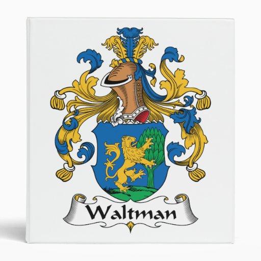 Escudo de la familia de Waltman