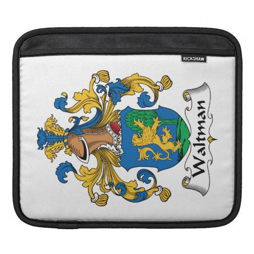 Escudo de la familia de Waltman Fundas Para iPads