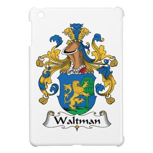 Escudo de la familia de Waltman iPad Mini Fundas