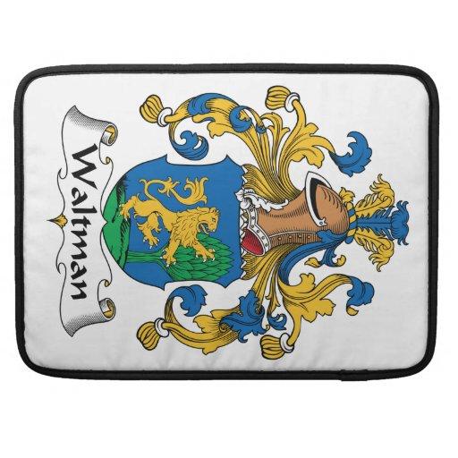 Escudo de la familia de Waltman Funda Macbook Pro
