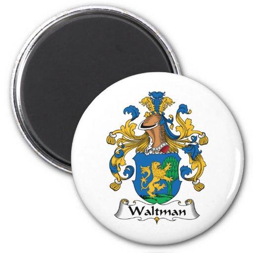 Escudo de la familia de Waltman Iman De Frigorífico