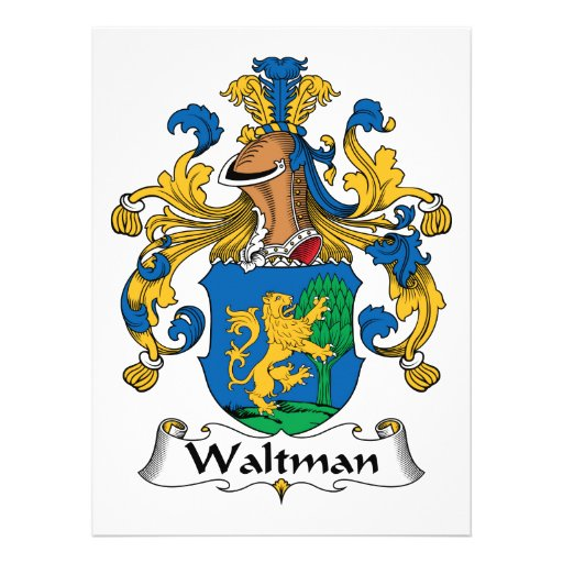 Escudo de la familia de Waltman Comunicados Personales