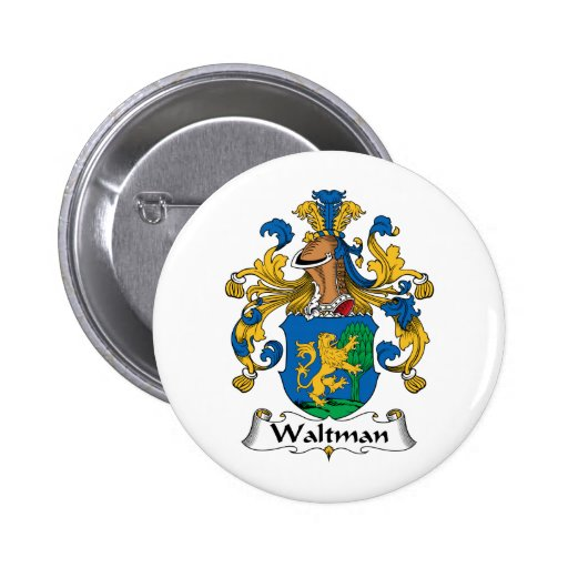 Escudo de la familia de Waltman Pins