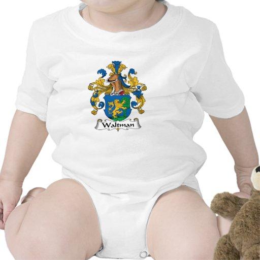 Escudo de la familia de Waltman Traje De Bebé