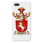 Escudo de la familia de Wansch iPhone 5 Cárcasas