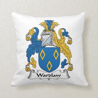Escudo de la familia de Wardlaw Cojines