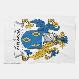 Escudo de la familia de Wardlaw Toalla De Mano