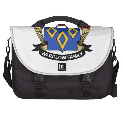Escudo de la familia de Wardlow Bolsa De Ordenador