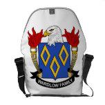 Escudo de la familia de Wardlow Bolsas Messenger