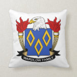 Escudo de la familia de Wardlow Cojines